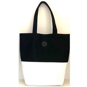 Lululemon On the Move Black & White Tote Bag